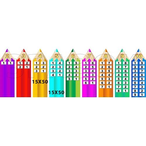 наліпка склад числа будиночки замовити для школи 18