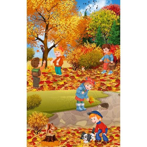 банер осінь