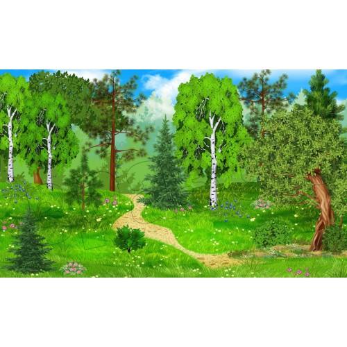 магнітний стенд для малюнків ліс