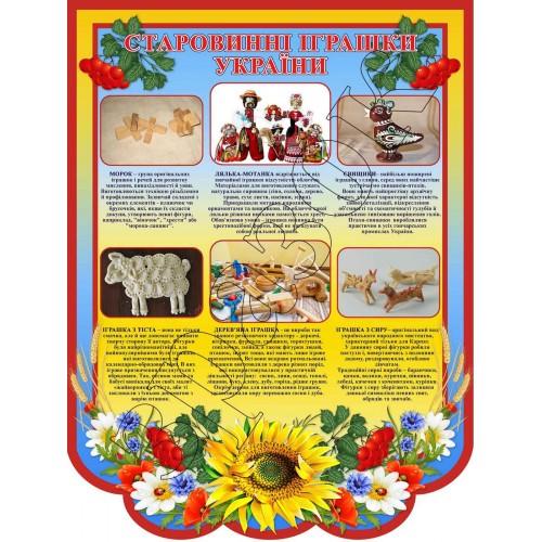 інформаційний стенд старовинні іграшки україни замовити 104