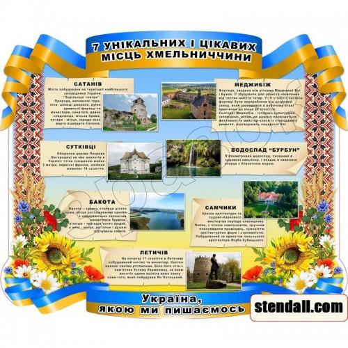 стенд символіка україни цікаві місця 106