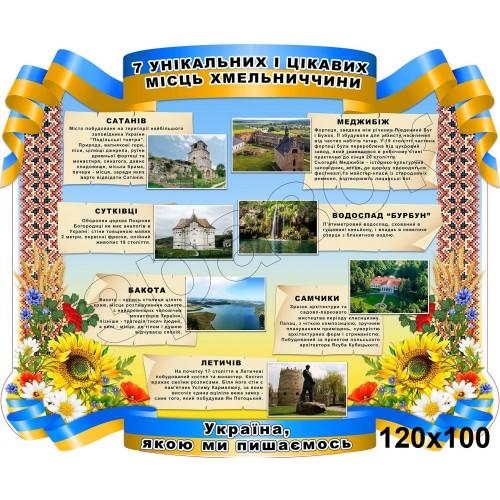 стенд символік україни цікаві місця 90