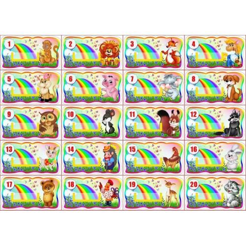 набір табличок на шафи група барвінок замовити з пвх київ 15