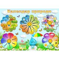 "Стенд ""Календар природи"" УКП 0163"