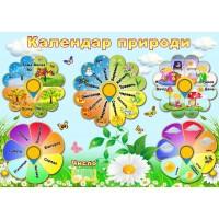 "Стенд ""Календар природи"" УКП 0166"