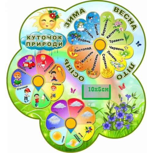 стенд куточок природи в садок барвінок замовити 173