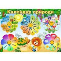 "Стенд ""Календар природи"" УКП 0177"