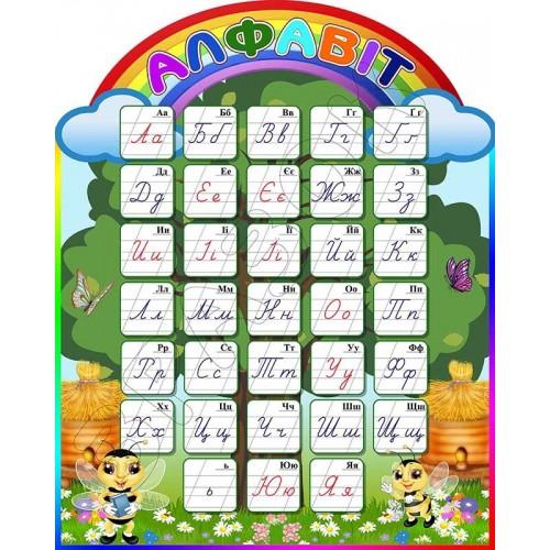 стенд алфавіт для початкової школи замовити нуш бджоли 235