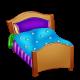 Списки на кроватки в детском саду