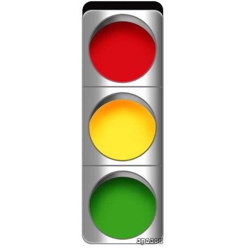 Стенд світлофор правила дорожнього руху для дітей 11