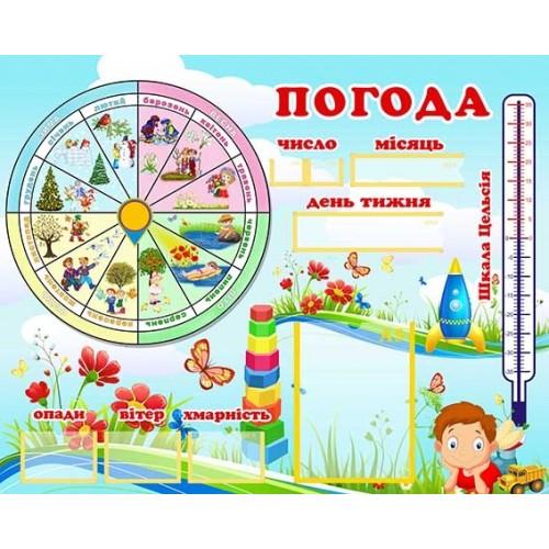 стенд календар природи погода купить 67