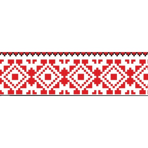 символіка України стричка орнамент наліпка 19