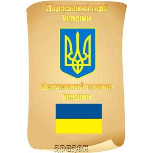 Герб та прапор України символіка 25