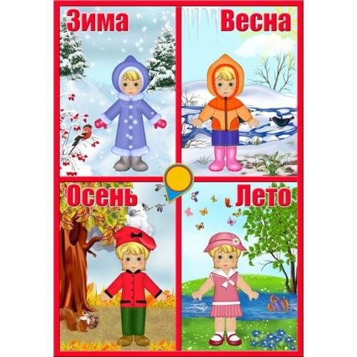 Стенд для детского сада календарь природы 29