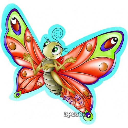 Стенды для детского сада Украина магнитные бабочка 50