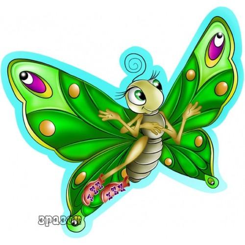 Стенды магнитные для детского сада Украина бабочка 51
