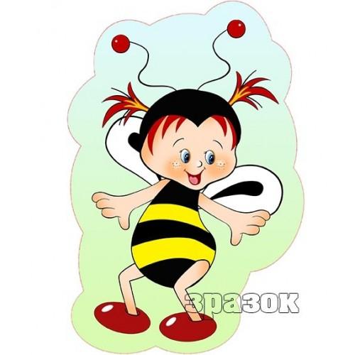 картинка бджілка пластик 57