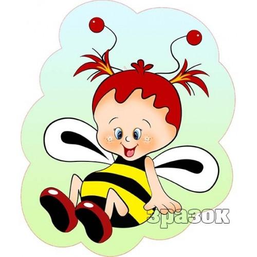 Стенд прикраса бджілка 74