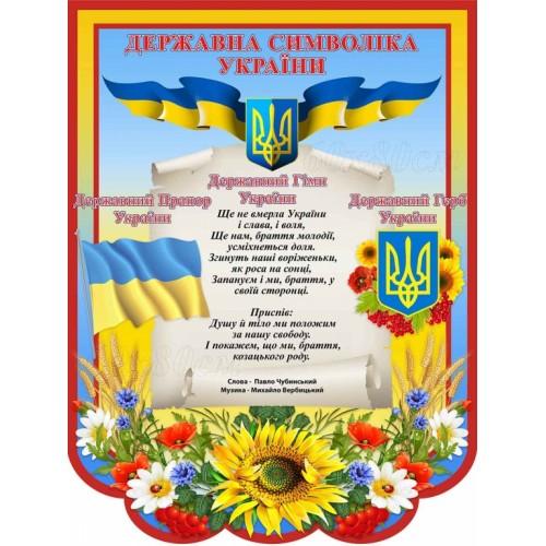 набір стендів патриотичне виховання народознавство україна символіка 75