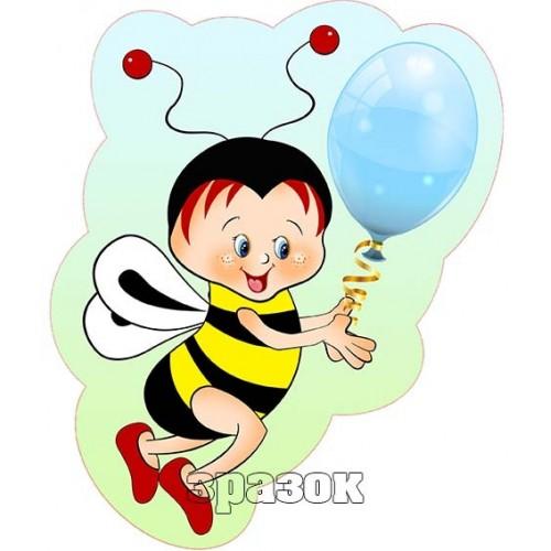 бджілка прикраса на стіну в садок 79