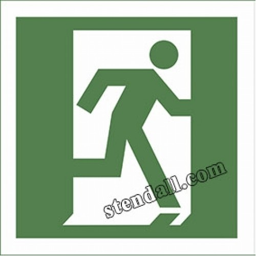 знак безпеки двері евакуаційного виходу 25