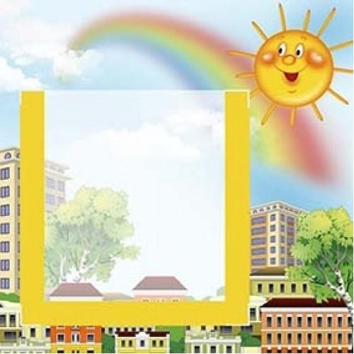 табличка на шкаф з фото сонечко 19